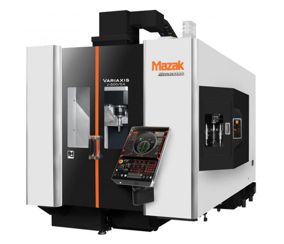 Mazak Powers To Autosport With New Variaxis 5 Axis Machine