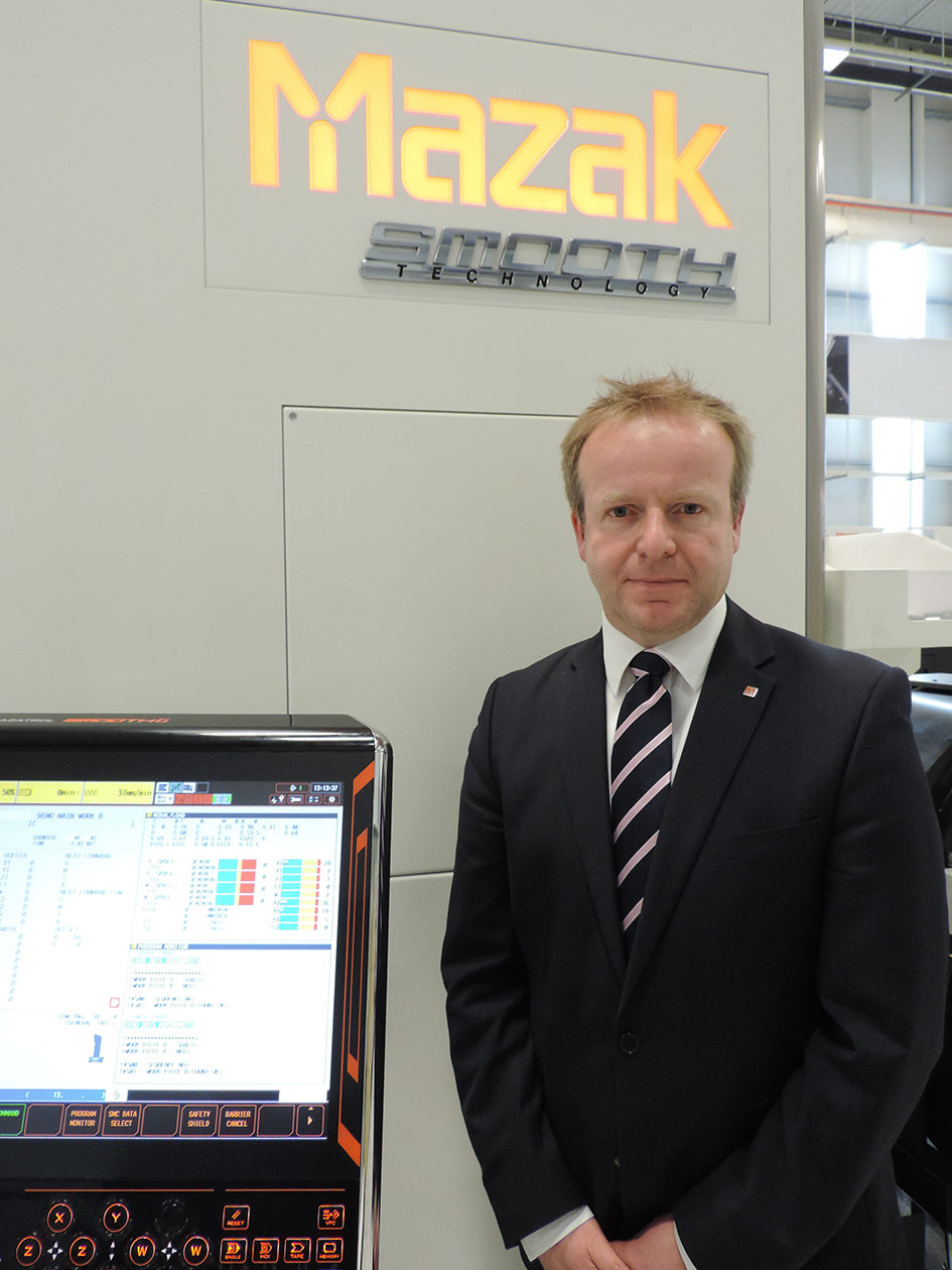 Mazak announces new Director for UK and Ireland Sales Division |